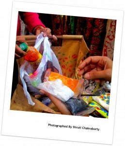 Natural Dyes used in Kalamkari art