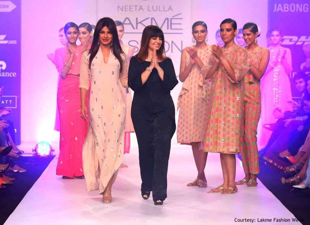 Priyanka Chopra @ Neeta Lulla - 'Diffusion