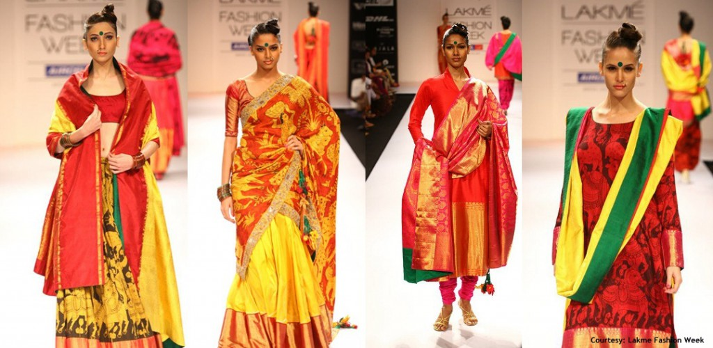 From Gaurang's Collection Lakmé Fashion Week 2012