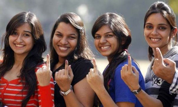 Voting In India! Reloading Fashion Freedom