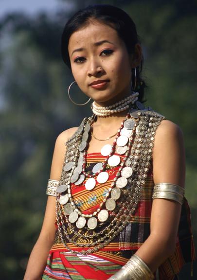 Girl Wearing Risa