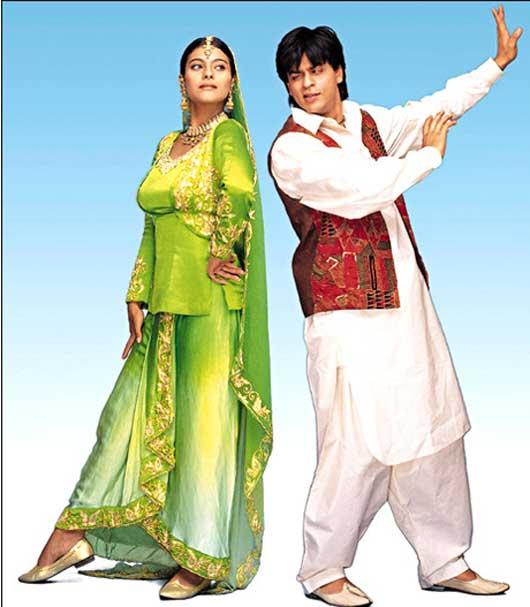 Hahrukh Khan and Kajol