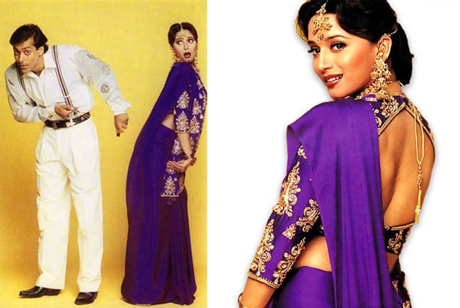 Madhuri Dixit in the 90's