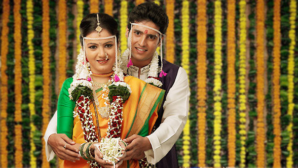Marathi Bride and Groom