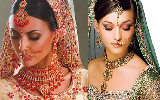 Indian Bridal Nose Ring