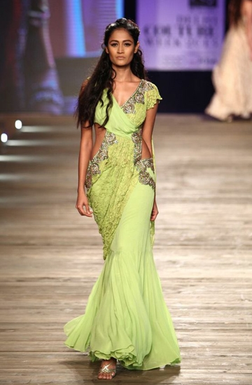 Know About The Designer Saree Gowns Utsavpedia