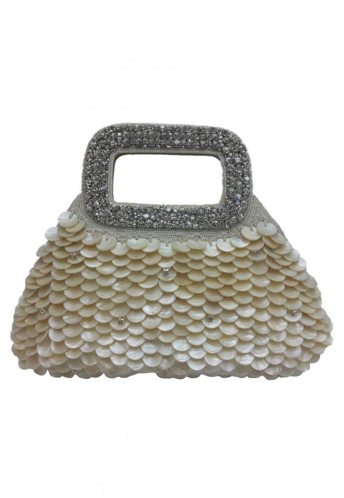 Clutch with Shell work at Utsav Fashion