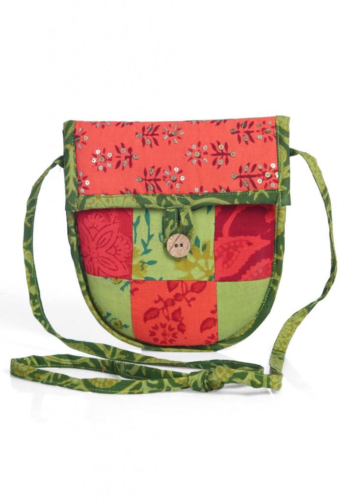 Sling Bag in Sequins & Paisley at Utsav Fashion