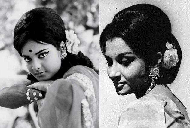 Retro Bollywood Beauties Sporting the Gajra