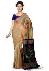 Jamdani Art Matka Silk Saree