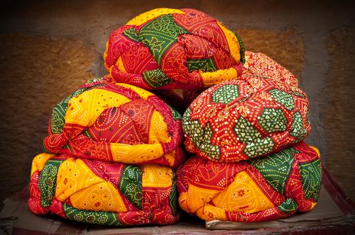 Bandhani Turbans