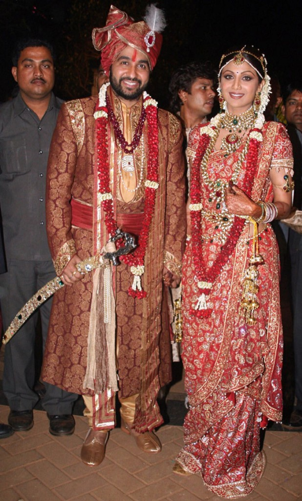 Shilpa Shetty & Raj Kundra Wedding (Image Courtesy: NDTV)