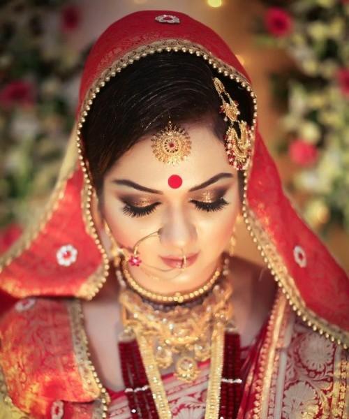 Bling-Bridal Eye Make-Up