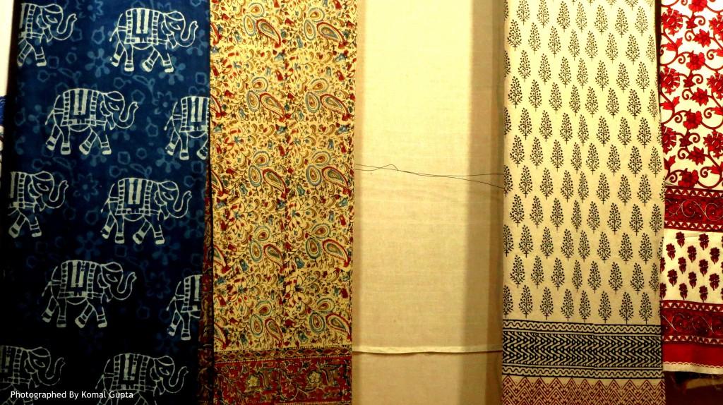 Bedspreads in Sanganer Prints (Photographed By Komal Gupta)