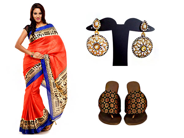 Saree for your formal stint
