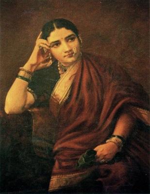 Originating days of Lehenga Style Saree (Image: wikipedia)