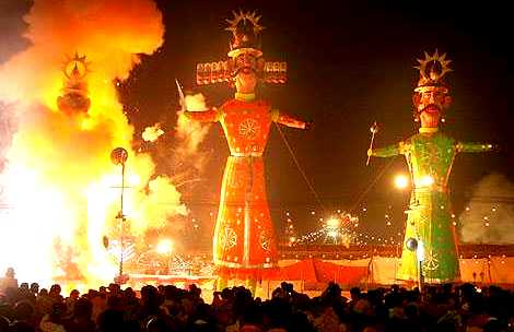 Dusshera – Hindu festivals in South-East Asia