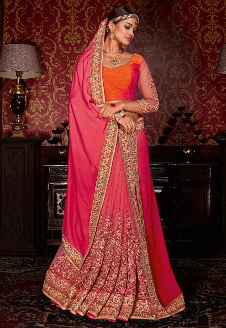 Pre-stitched Or Readymade Saree