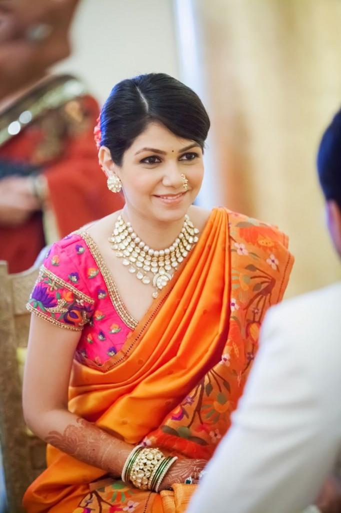 Woman dressed for Bhai Dooj (Image: Pinterest)