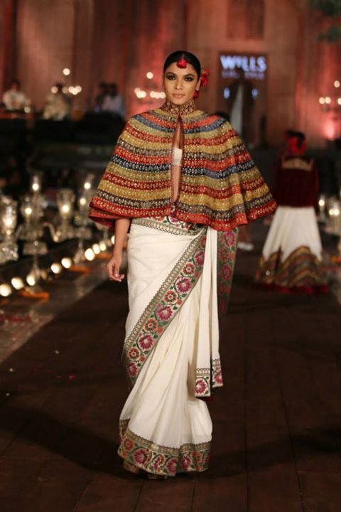 Bringing the show to a close with Rohit Bal's 'Gulbagh'
