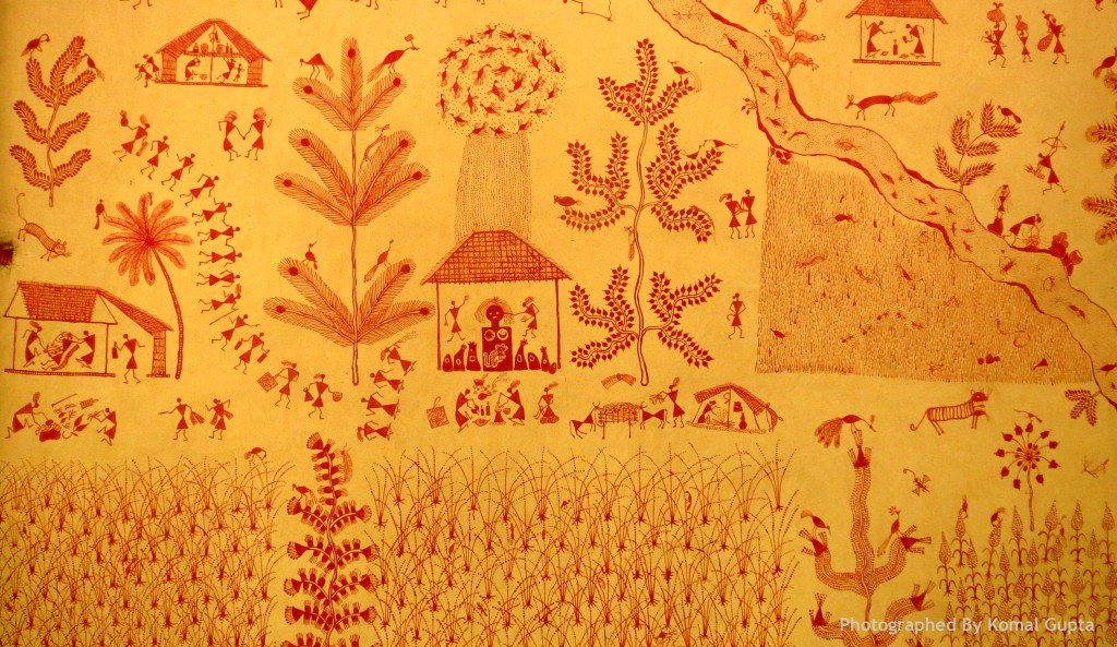 Warli Painting (Photographed By Komal Gupta)