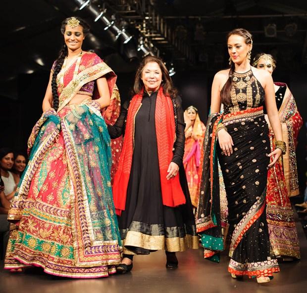 Ritu Kumar's Couture (Image: memorableindianweddings)