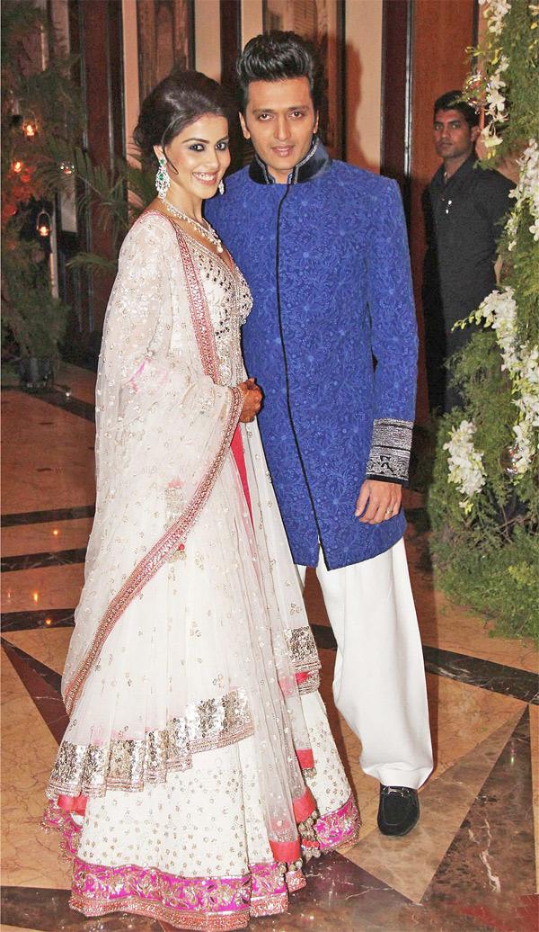 Riteish & Genelia Sangeet Ceremony (Image: http://collegers.net/)