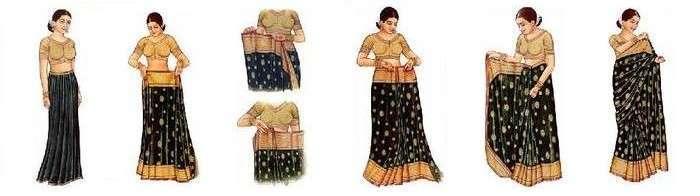 Nivi Style Saree Draping