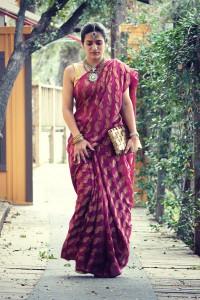 Nivi style saree (Image: tanvii.com)