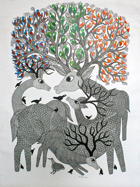 Gond Painting (Image: deccanfootprints)