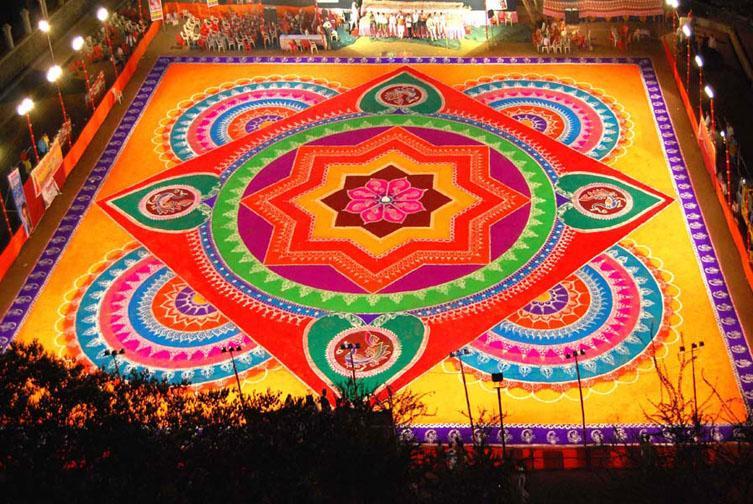 Gudi padwa Rangoli