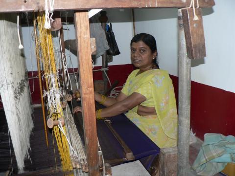 Weaver at Work