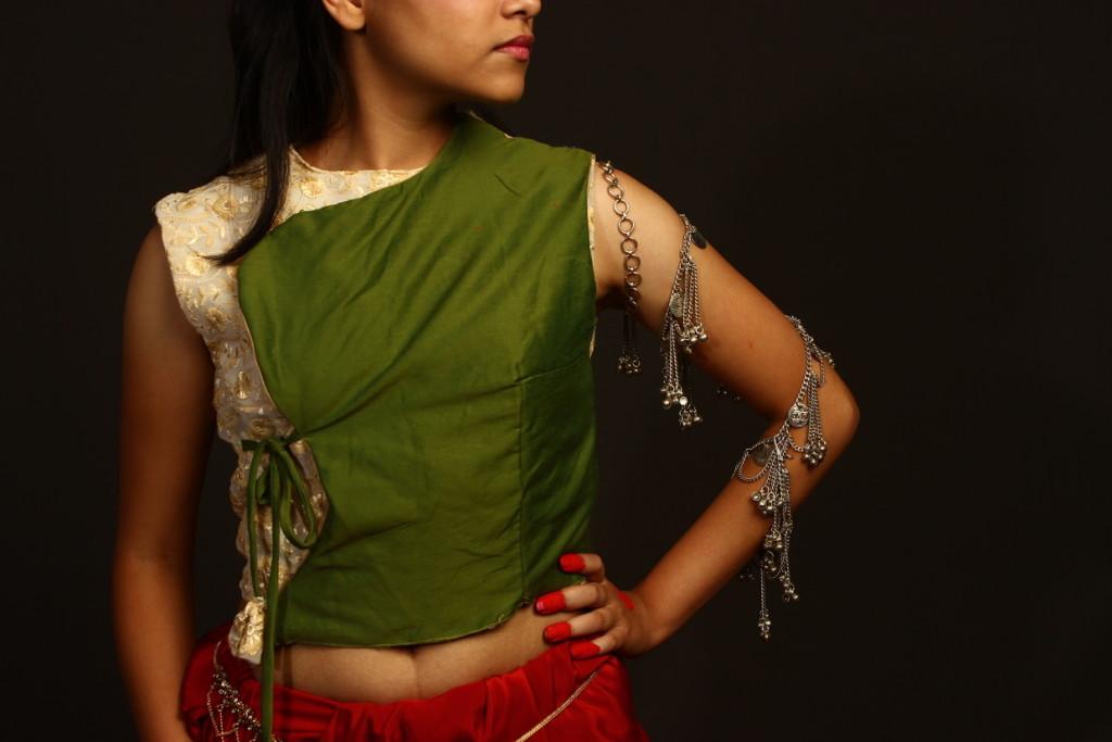 Women's Bagalbandi style top (Image: www.behance.net)