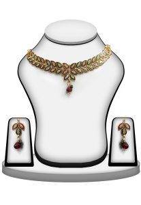 Meenakri Necklace Set