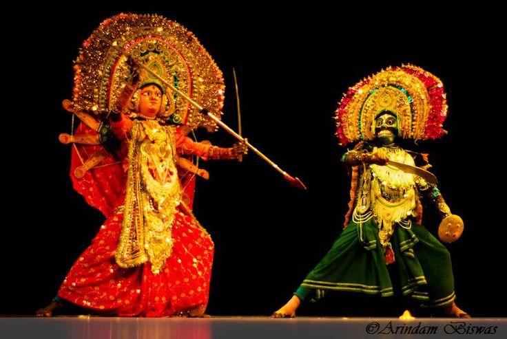 Chhau Dance Performance (Image: http://www.pinterest.com)