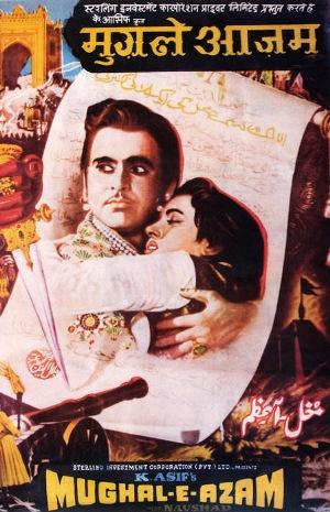 Mughal-E-Azam Poster (Image: http://en.wikipedia.org)