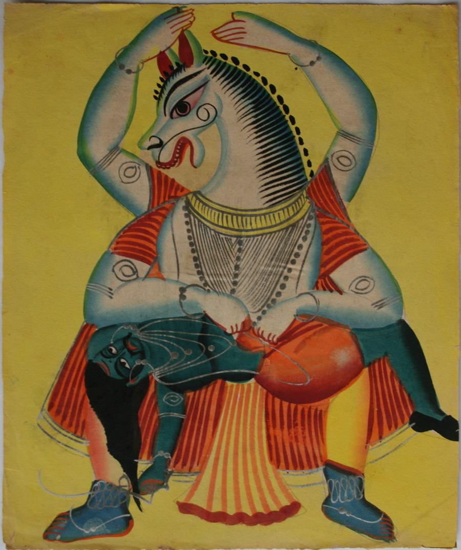 Kalighat Paintings- Modern Art Inspired by Life in Kolkatta