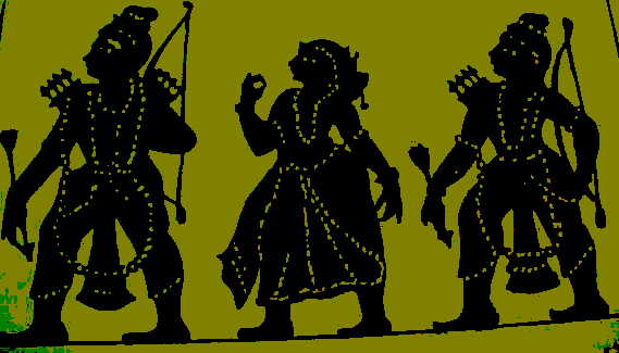 Shadow Puppet Silhouettes (Image: http://hyd-n-spook.blogspot.in)