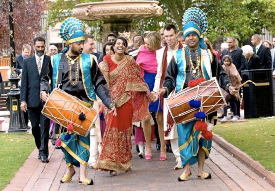 Punjabi Baraat (Image: http://kanavblog.blogspot.in)