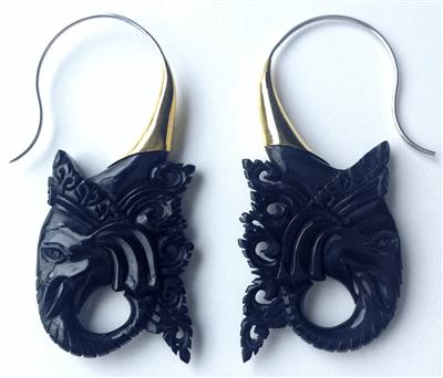 Ganesha Ear Rings. (Image:  Primal Distro)