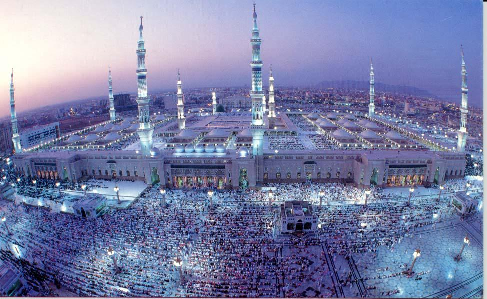 Millions of worshipers at the Grand Mosque in Mecca. (Image: Labibliotecadelislam.tk)