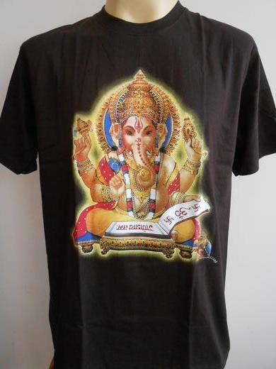 A Ganesha print t-shirt. (Image: img.auctiva.com)