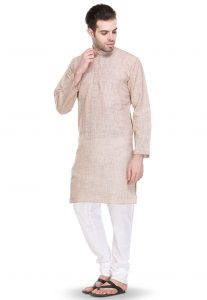 Khadi Cotton Kurta For Men