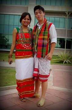 Traditional Attires in Tripura
