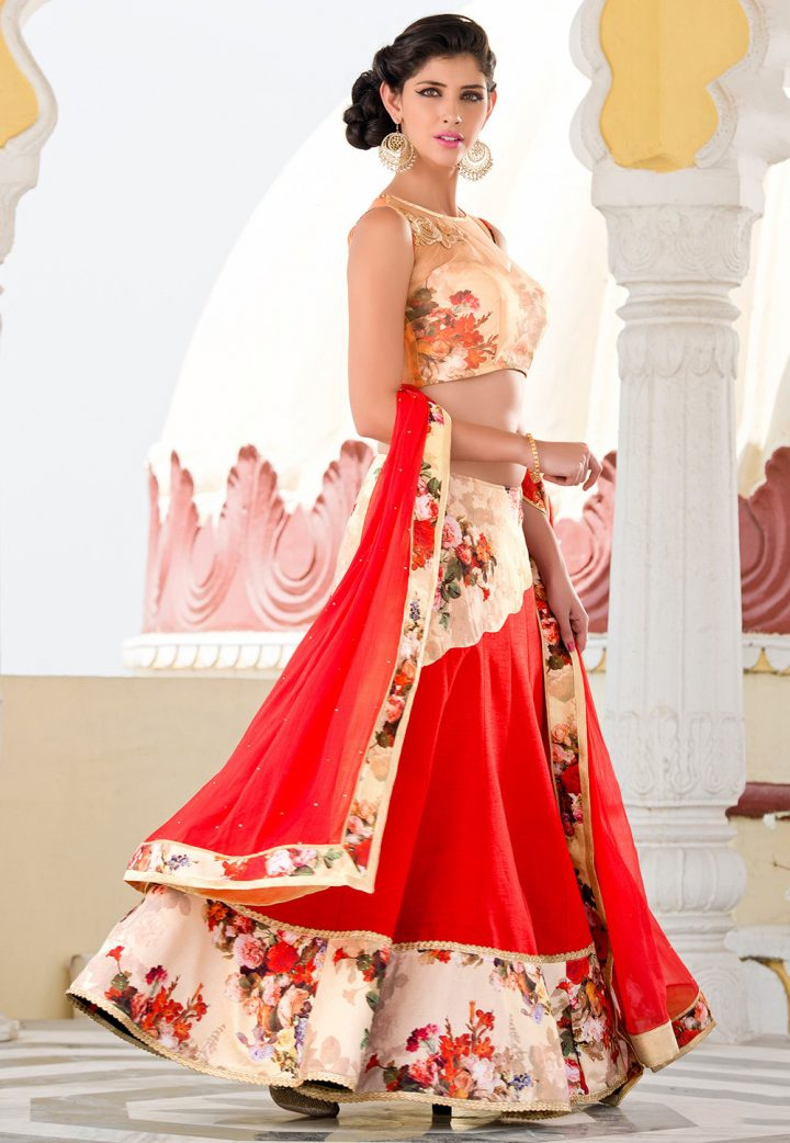 The Indian Lehenga Choli
